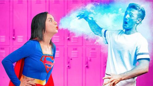 超级英雄的日常生活是怎样的?美女亲身体验,