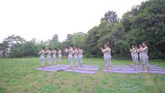 单色舞蹈(武汉)王家湾馆瑜伽一阶教练班学员作品