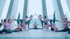 单色舞蹈(武汉)武广馆瑜伽一阶教练班学员作品