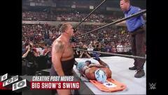 【WWE】看完这10个疯狂致命一击的精彩集锦,你还