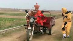 悟空给唐僧换了一个新的坐骑,竟找不到刹车,