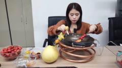 办公室小野自制超长糖葫芦,帮你打开记忆的味
