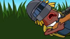 搞笑吃鸡动画 马可波发动主角光环的必杀技能