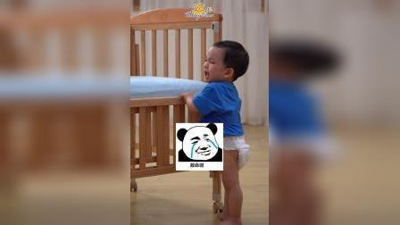 宝宝搞笑视频:你哭起来真好看,像春天的花一